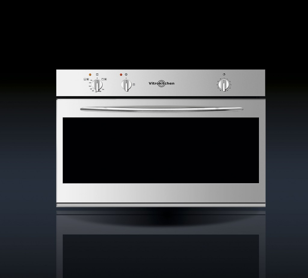 Horno a gas hg91i vitrokitchen for Medidas de hornos pequenos