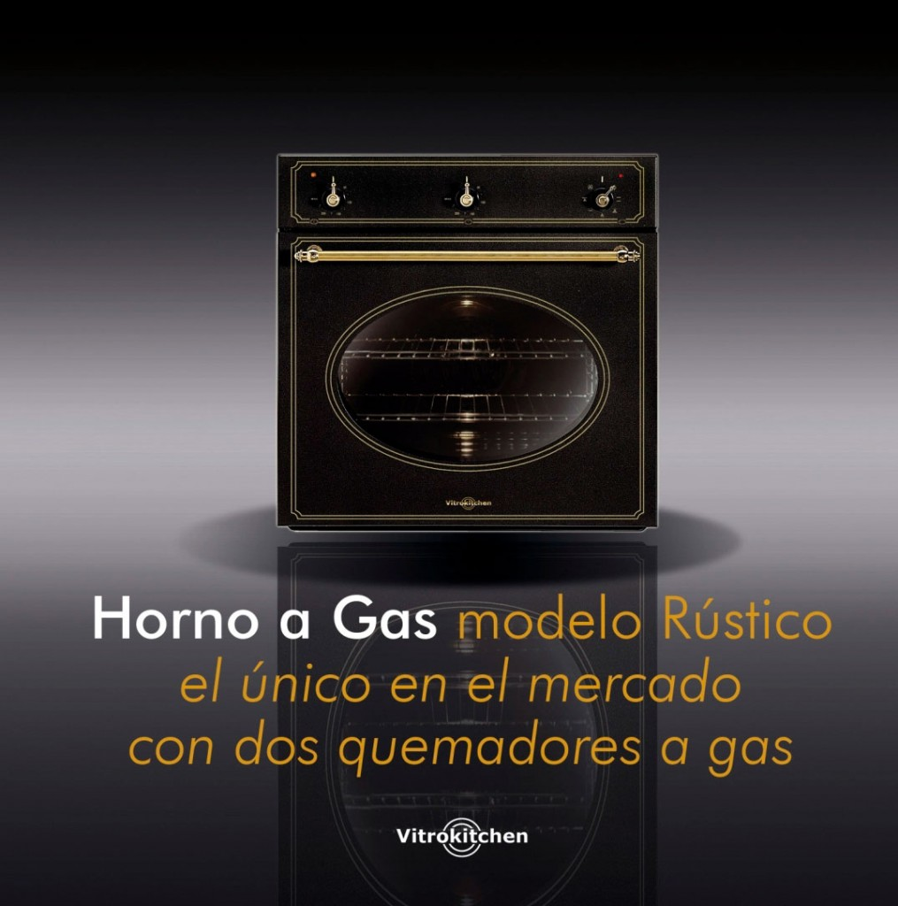 Hornos a gas vitrokitchen for Precios de cocinas a gas natural