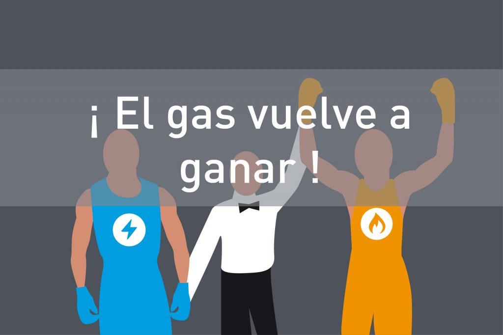 El gas ahorra energia
