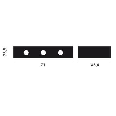 Medidas plancha a gas de 3 quemadores