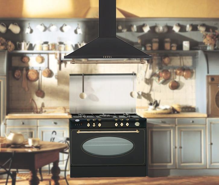 Cocina rustica excellent cocina rstica decoracin blanco for Muebles de cocina fiona