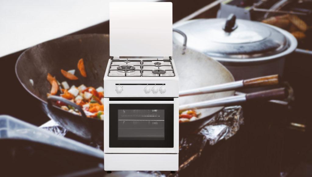 Cocina gas wok