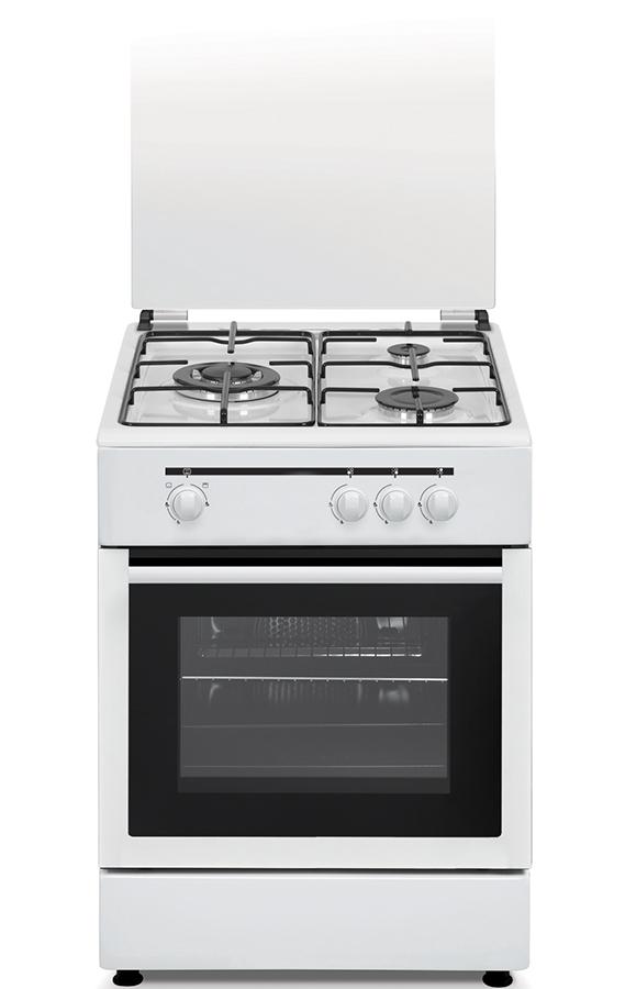 Cocina a gas con wok de alta potencia horno y grill a gas - Cocina gas natural con horno ...