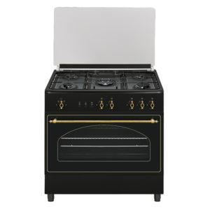 cocina de gas rustica