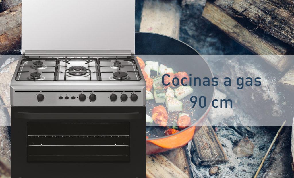 cocinas gas 90cm