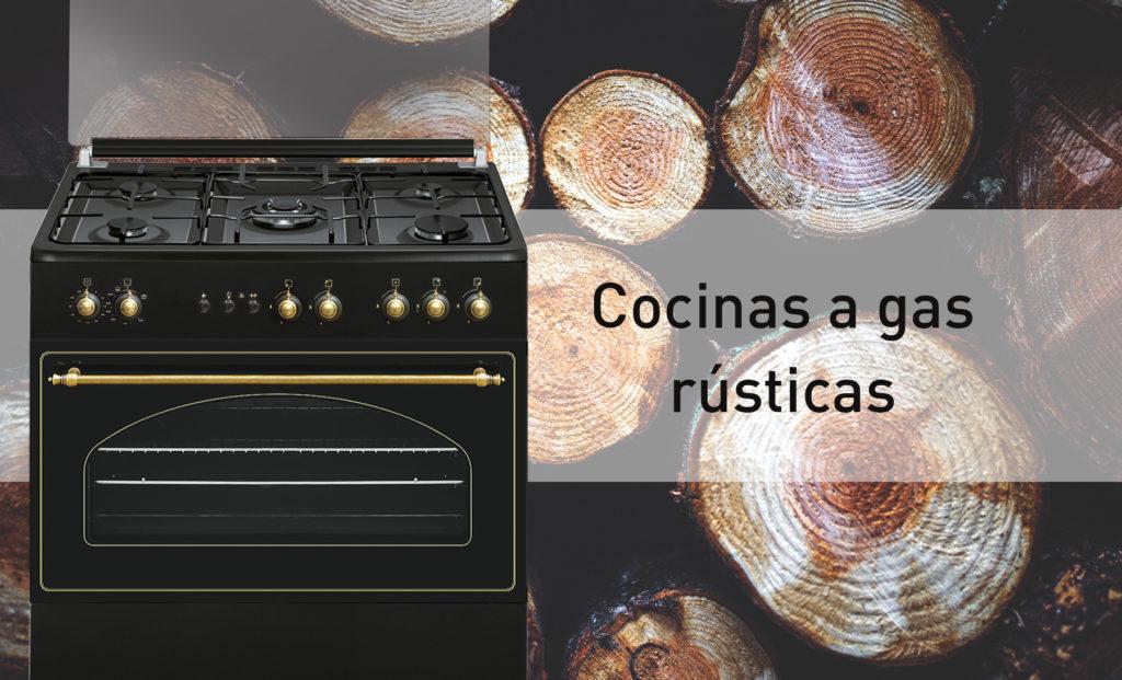 cocinas gas rusticas