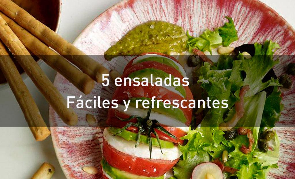 5 ensaladas