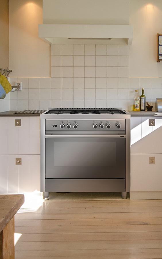 cocina de gas profesional