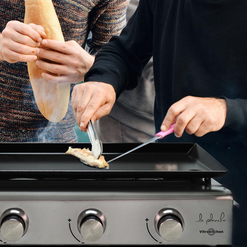 plancha de gas para cocinar